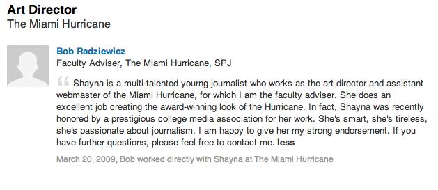 Hurricane Recommendation