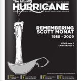 The Miami Hurricane Newspaper, March 2009, Coral Gables, Fl. Columbia Scholastic Press Association Gold Circle Award, Page One Design First Place, Hand Drawn Illustration Third Place.