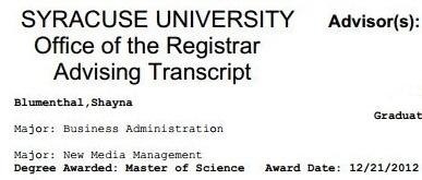 i gots a degree