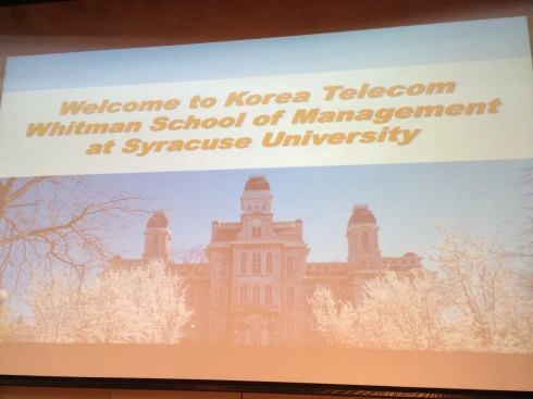 Welcome to Korea Telecom
