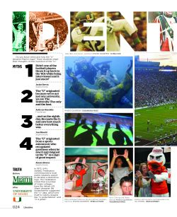 Page 1 of 2. Spread from Ibis Yearbook 2010. The yearbook won a Columbia Scholastic Press Association Gold Crown Award.